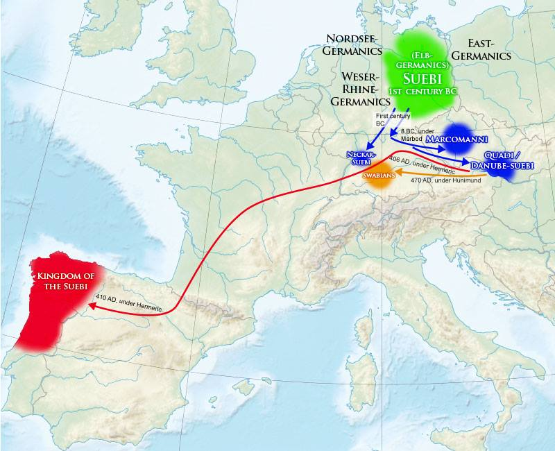 suebi-migration